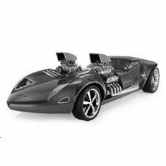"""Twin Mill Hot Wheels Concept Black and White Poster 24""""x36"""""""