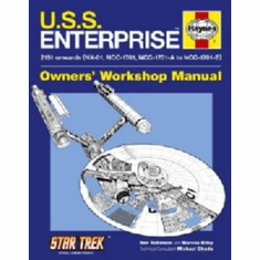 U.S.S. Enterprise Haynes Manual 8x10 photo Master Print