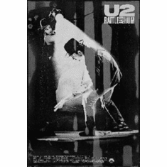 "U2 Rattle And Hum Black and White Poster 24""x36"""
