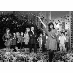 """Ugly Betty Black and White Poster 24""""x36"""""""