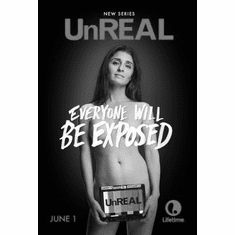 "Unreal Black and White Poster 24""x36"""