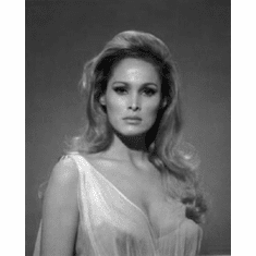 "Ursula Andress Black and White Poster 24""x36"""