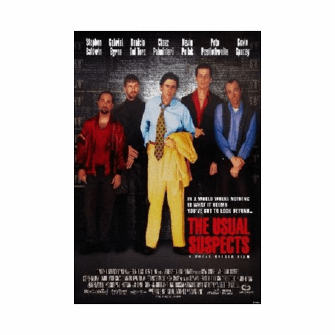 Usual Suspects Poster 24inx36in