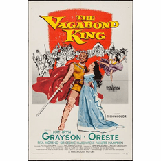 Vagabond King The Movie poster 24inx36in Poster