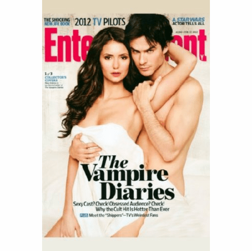 Vampire Diaries Entertainment Weekly Cover Poster 24inx36in