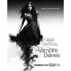 "Vampire Diaries The Black and White Poster 24""x36"""