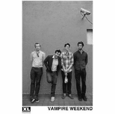 "Vampire Weekend Black and White Poster 24""x36"""