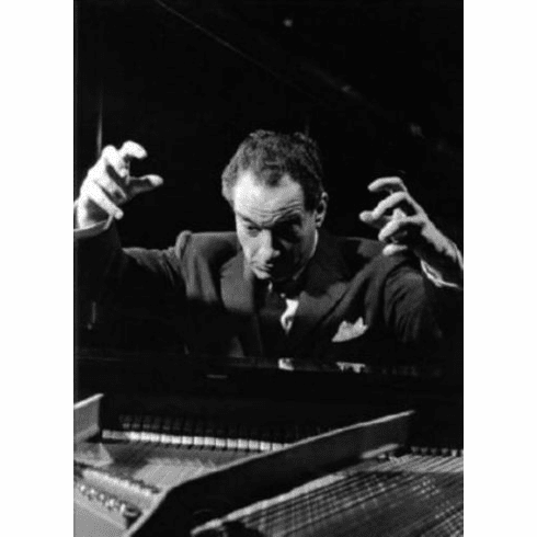 "Victor Borge Black and White Poster 24""x36"""