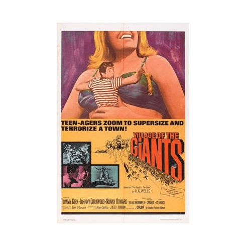 Village Of The Giants Movie Poster 11x17 Mini Poster