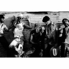"""Village People Black and White Poster 24""""x36"""""""