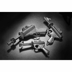 """Vintage Toy Ray Guns Black and White Poster 24""""x36"""""""