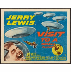 Visit To A Small Planet Poster 24inx36in