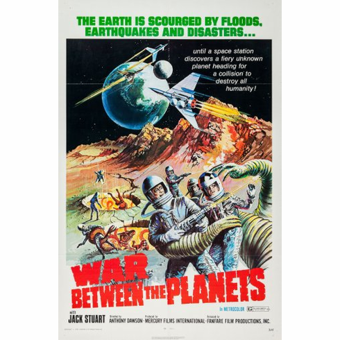 War Between The Planets Movie Poster 24inx36in Poster