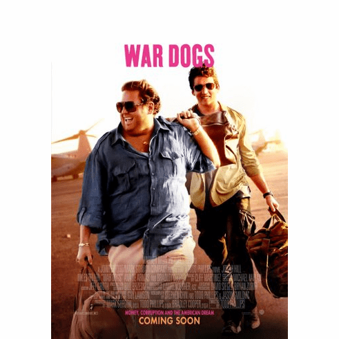 War Dogs Movie Poster 24x36