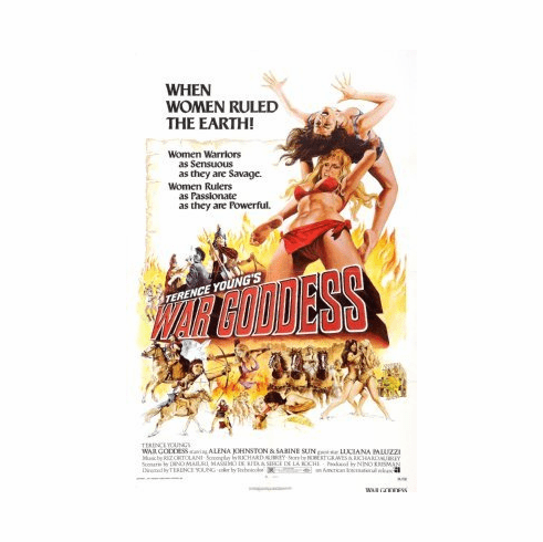 War Goddess Movie Poster 24x36 #01