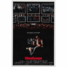 Wargames Movie Poster 24in x36 in