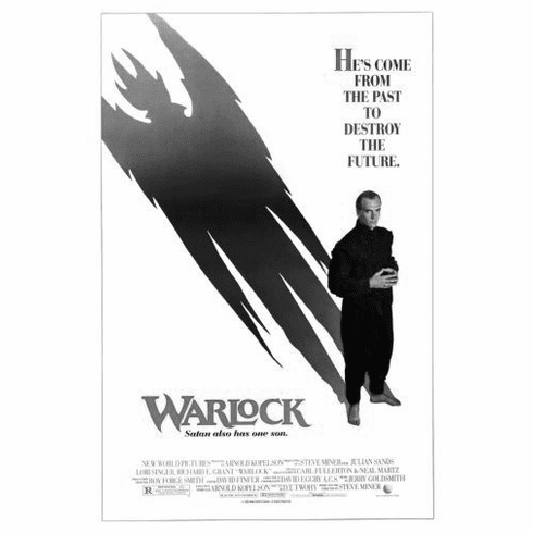"Warlock Black and White Poster 24""x36"""
