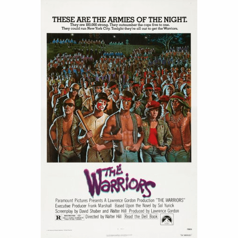 Warriors Movie Poster 24inx36in Poster