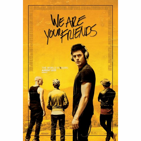We Are Your Friends Movie Poster 24in x36in