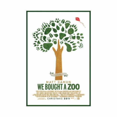 We Bought A Zoo Mini Movie Poster 11inx17in