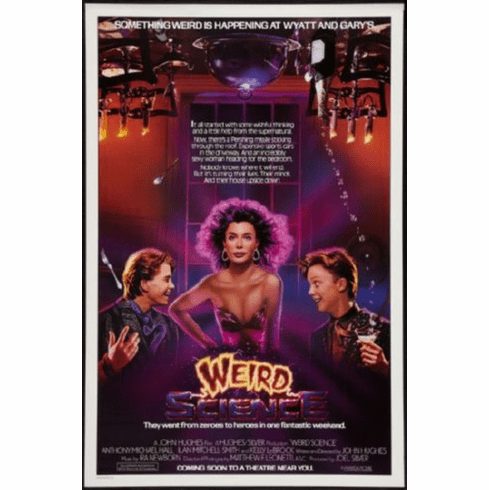 Weird Science Movie Poster 24inx36in