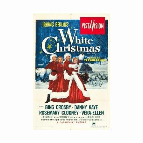 White Christmas Poster 24inx36in