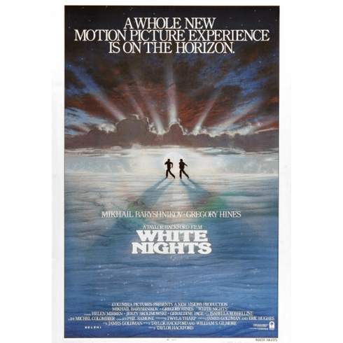 White Nights Movie Poster 24inx36in Poster