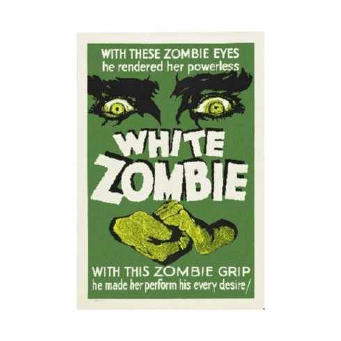 White Zombie Poster 24inx36in