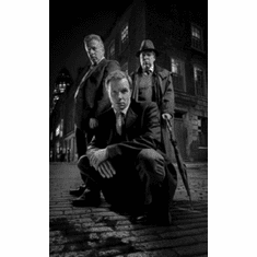 "Whitechapel Black and White Poster 24""x36"""