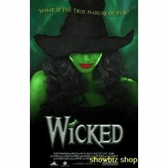 Wicked Theater Show Art Poster 24inx36in