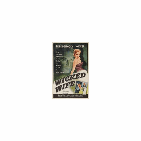 Wicked Wife Movie Mini poster 11inx17in
