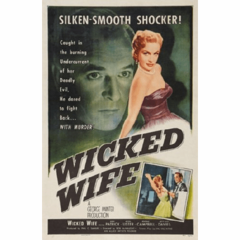 Wicked Wife Movie Poster 24inx36in