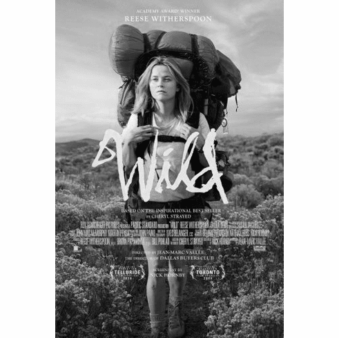 "Wild Black and White Poster 24""x36"""
