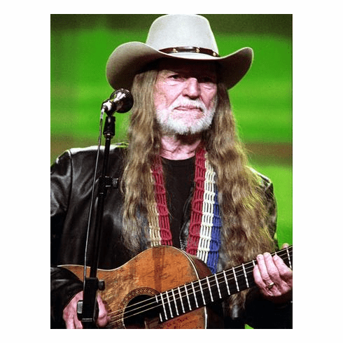 Willie Nelson Guitar 11x17 Mini Poster