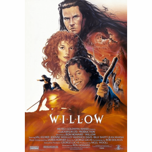 Willow Movie Poster 24inx36in Poster