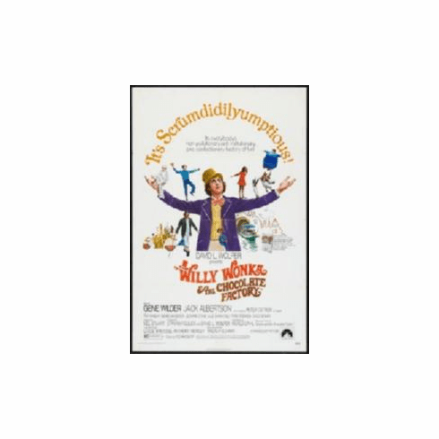 Willy Wonka And The Chocolate Factory Movie Poster 11x17 Mini Poster