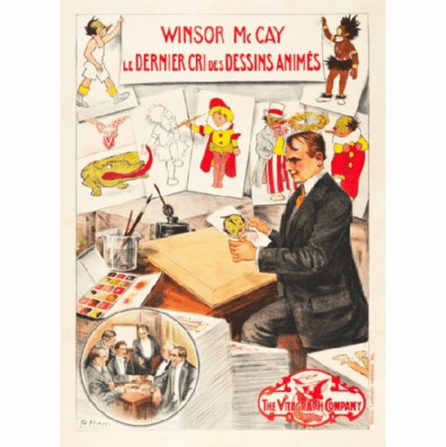 Winsor Mccay Movie Poster 24inx36in