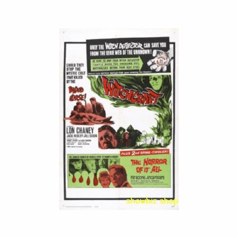 Witchcraft Double Feature Movie 8x10 photo Master Print
