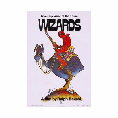 Wizards Movie Poster 24in x36 in
