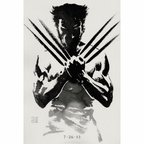 Wolverine Movie Poster 24inx36in Poster