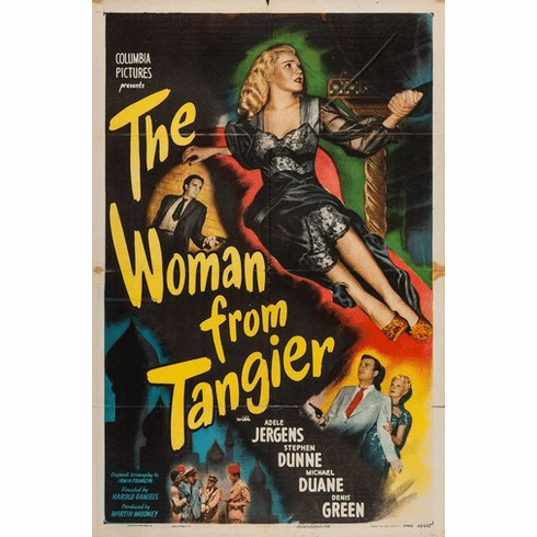 Woman From Tangier Movie Poster 24Inx36In Poster