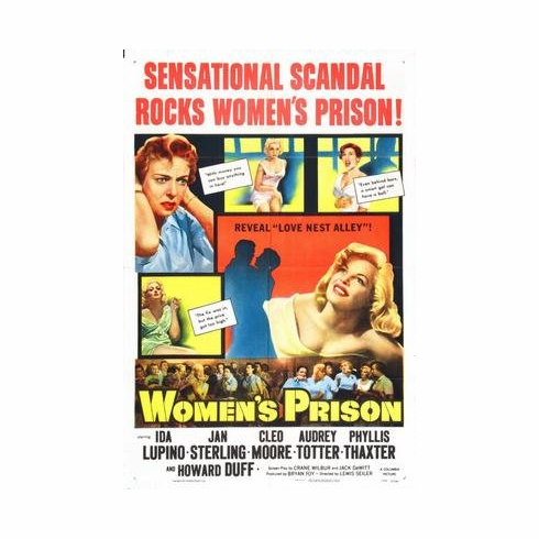Womens Prison Movie Poster 11x17 Mini Poster