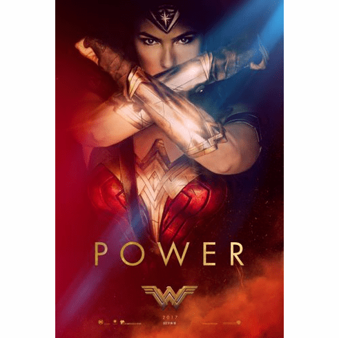 Wonder Woman Movie Poster 24x36
