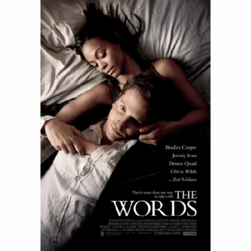 Words Movie Poster 24inx36in