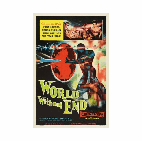World Without End Movie Poster 24x36 #01