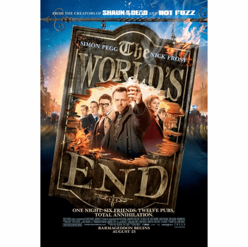 Worlds End Movie Poster 24inx36in Poster