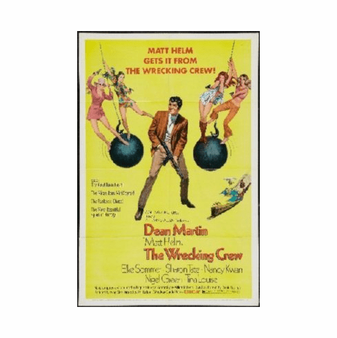 Wrecking Crew Poster 24inx36in