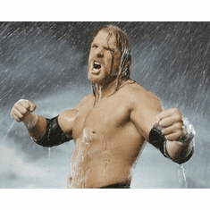 Wwe Triple H Movie Poster Wet Fists 24in x36 in