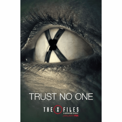 X-Files The Mini poster 11inx17in