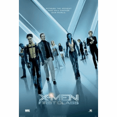 X-Men First Class Mini Poster 11x17in